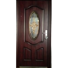 Puerta TH-105  con Vitral / IZQUIERDA